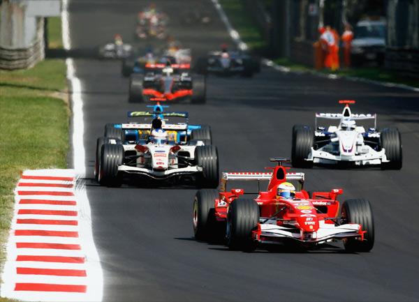 F1 resor - Italien, Monza