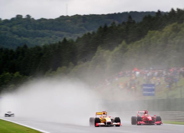 Formel 1 resor, Beligen